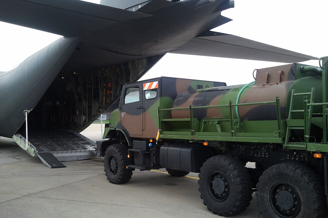 10000L TACTICAL REFUELLER