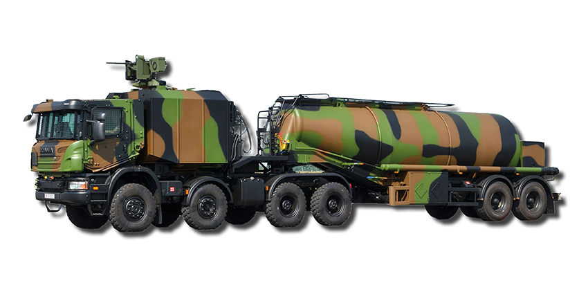 22 000L TACTICAL REFUELLING TRAILER