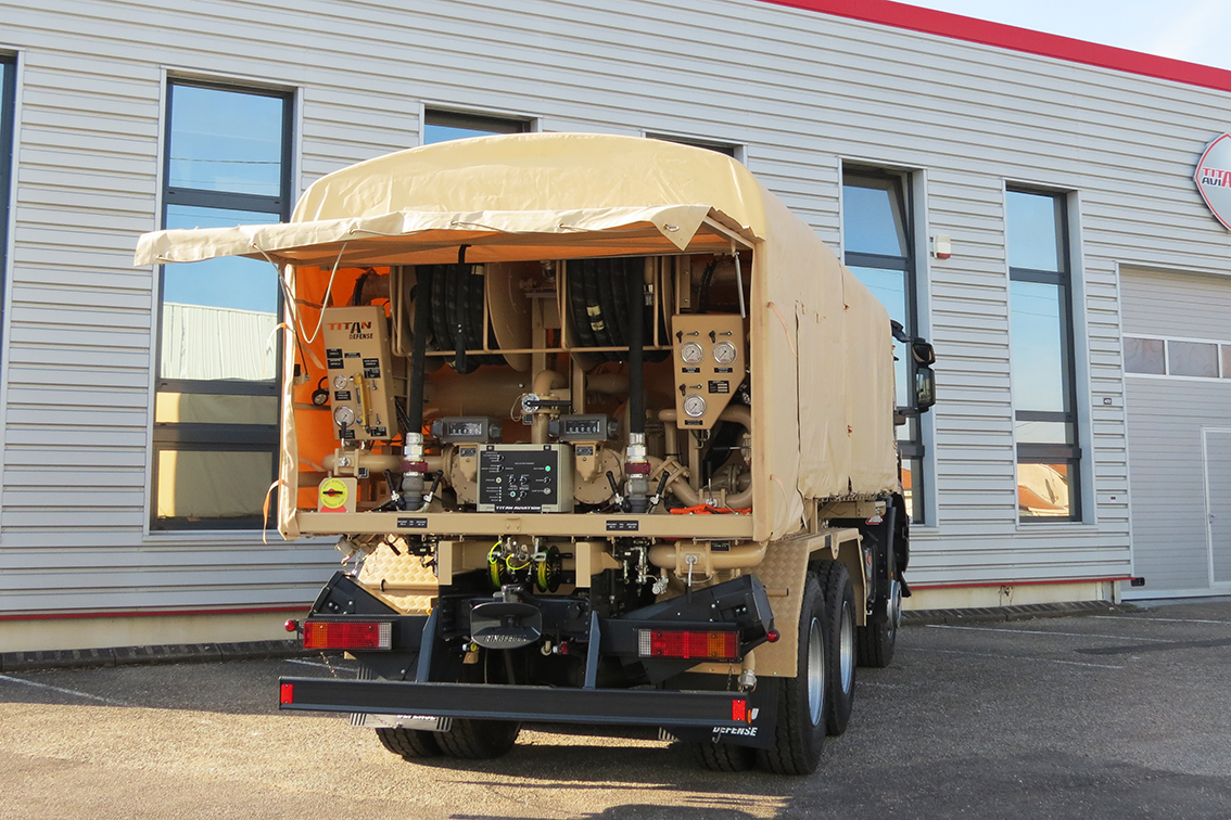 7 000L TACTICAL REFUELLER